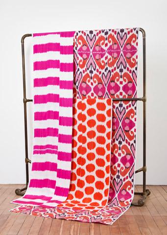 Madeline Weinrib Ikat Fabrics