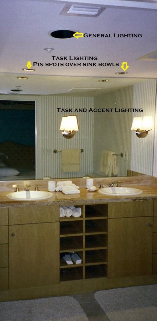 interior design secrets of proper bathroom lighting