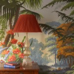 Hand Painted Wallpaper By de Gournay