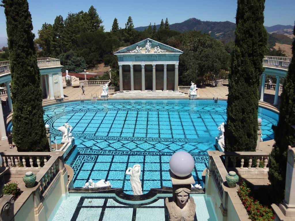 summer travel to hearst castle