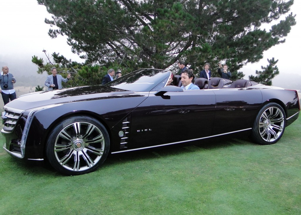 Concept Cars and Husbands at Pebble Beach 2011