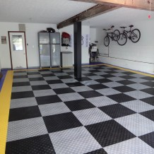 DIY Race Deck garage floor