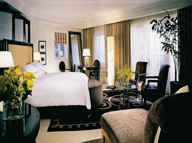 Bedroom inspiration from St Regis Hotel