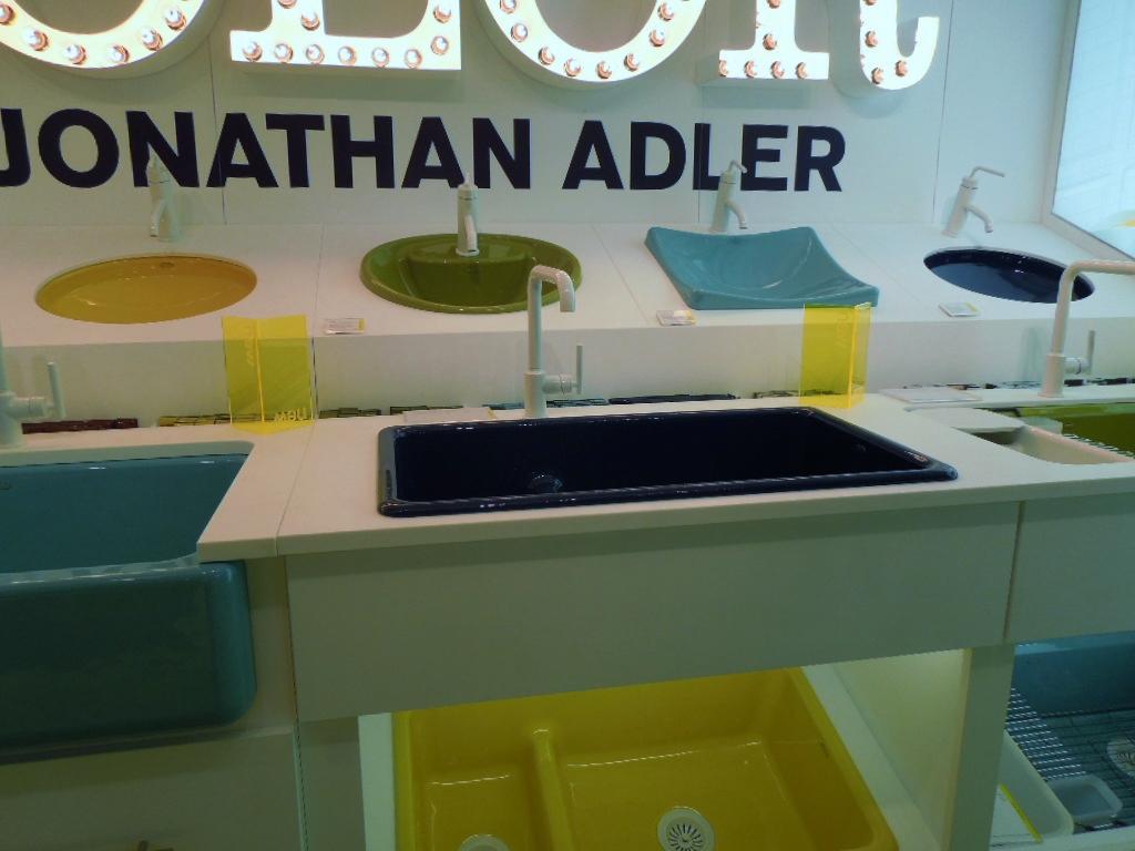 Jonathan adler does color for kohler - Jonathan adler sink ...
