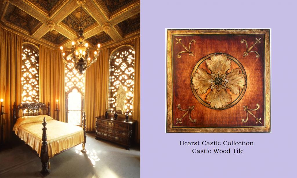 Hearst Castle Wood Celestial Tile