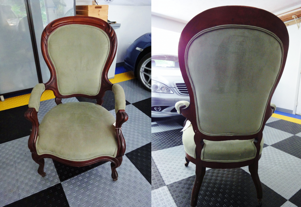Antique Chair Before