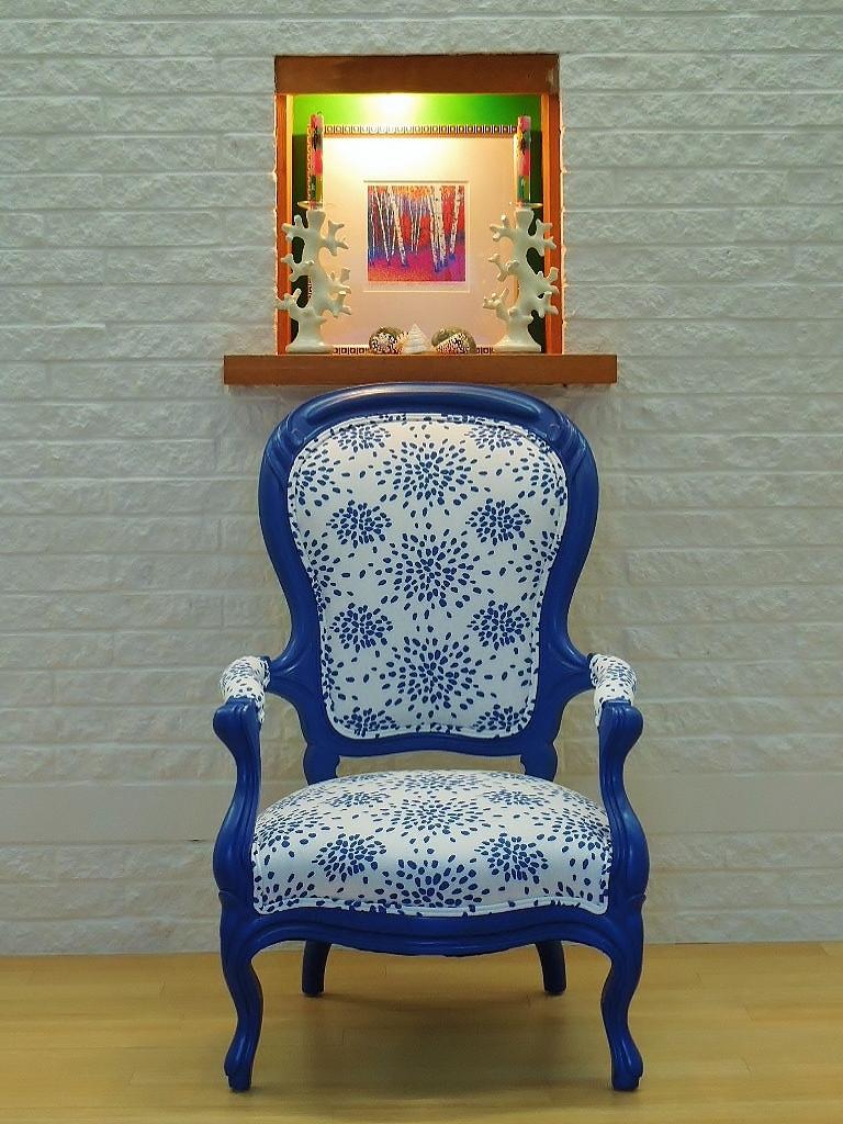 Antique Chair in redo by Interior Design Factory, ltd.