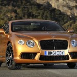 A Test Drive in the New Bentley Continental GT V8