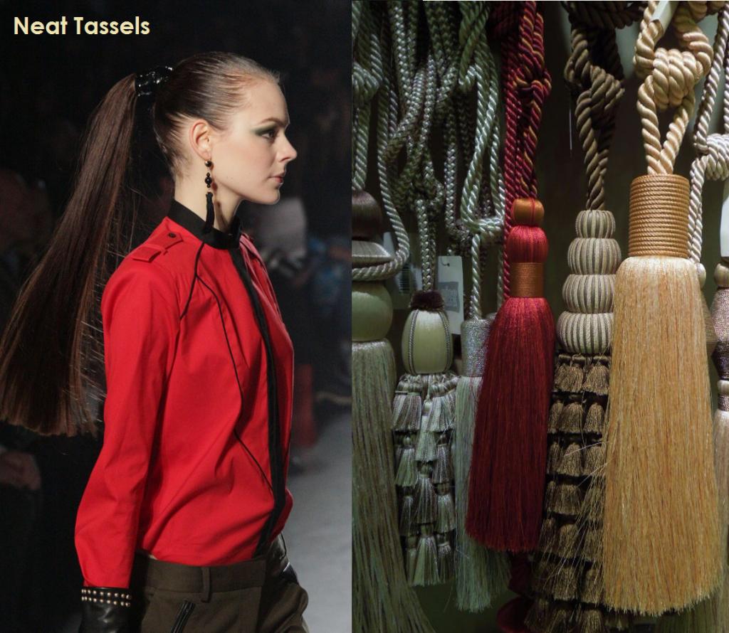 Jason Wu fashion and Tassels