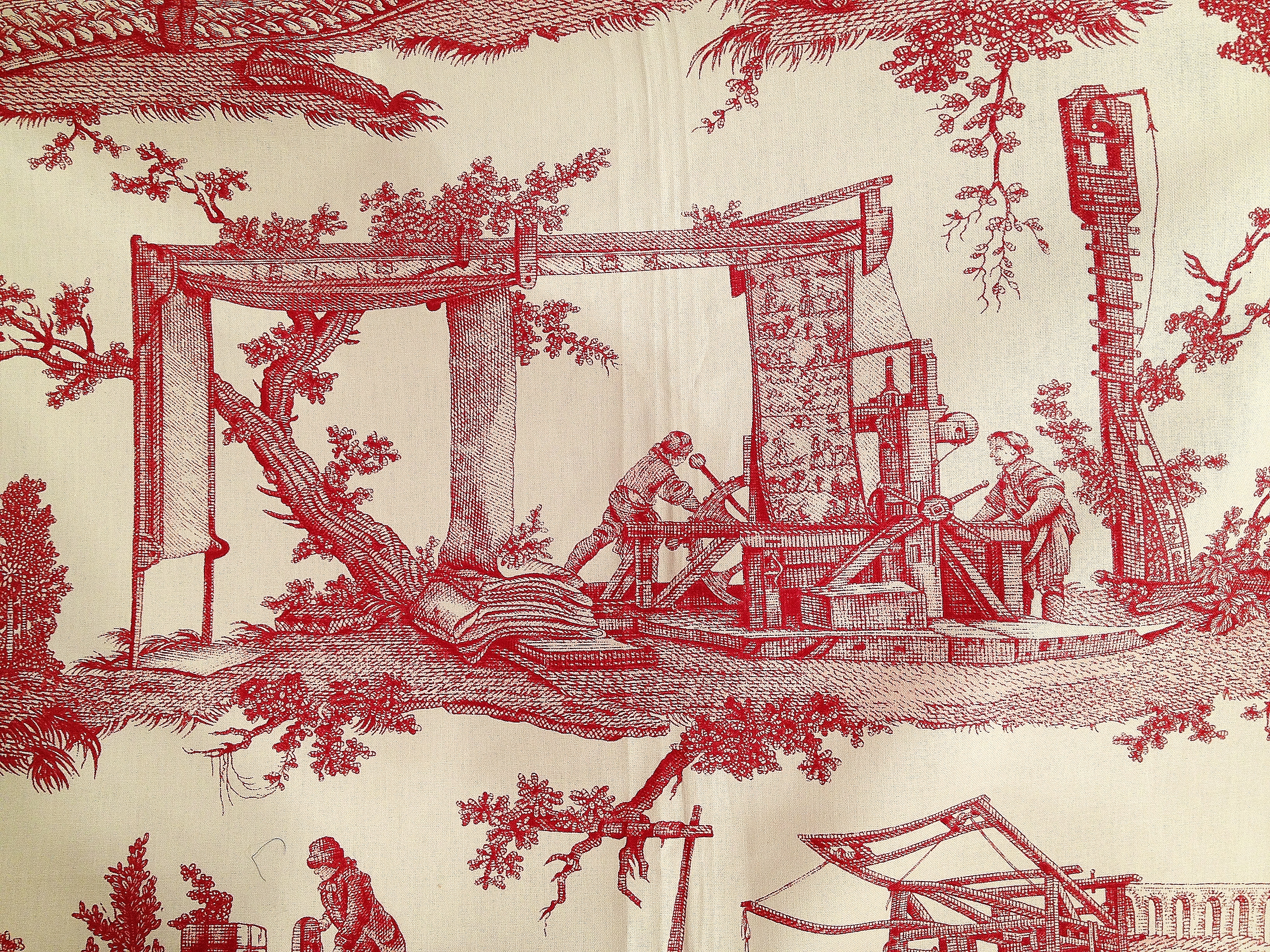 Centuries of french history shown in pierre frey fabric for Pierre frey fabric