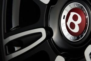 Bentley red B