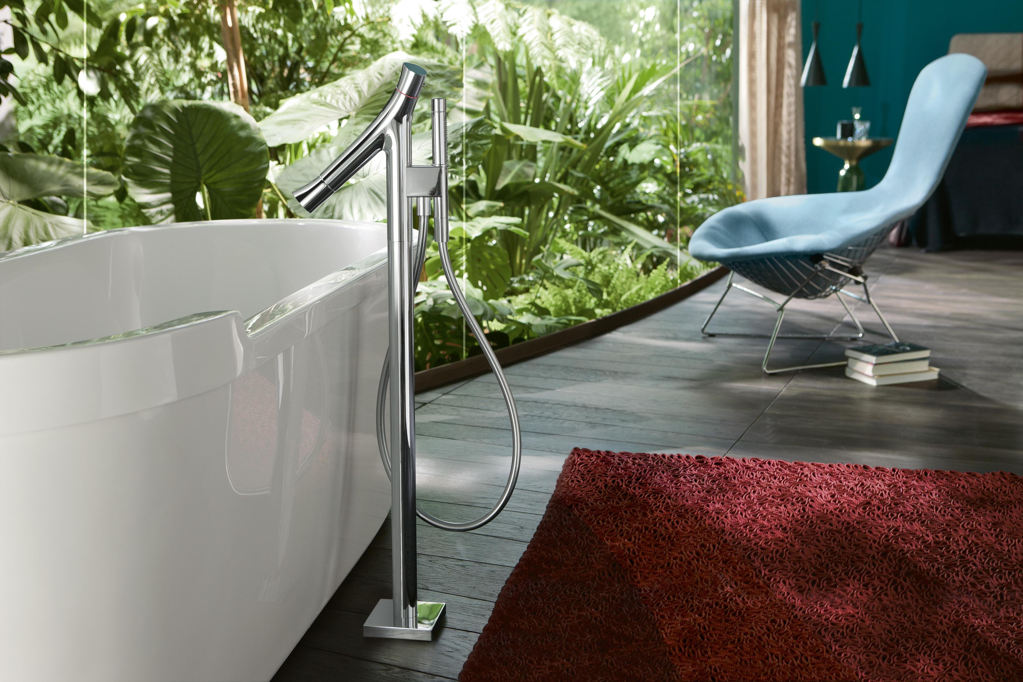 the organic bathroom by axor. Black Bedroom Furniture Sets. Home Design Ideas