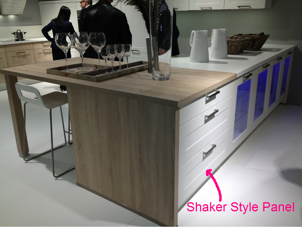 Shaker style cabinet front