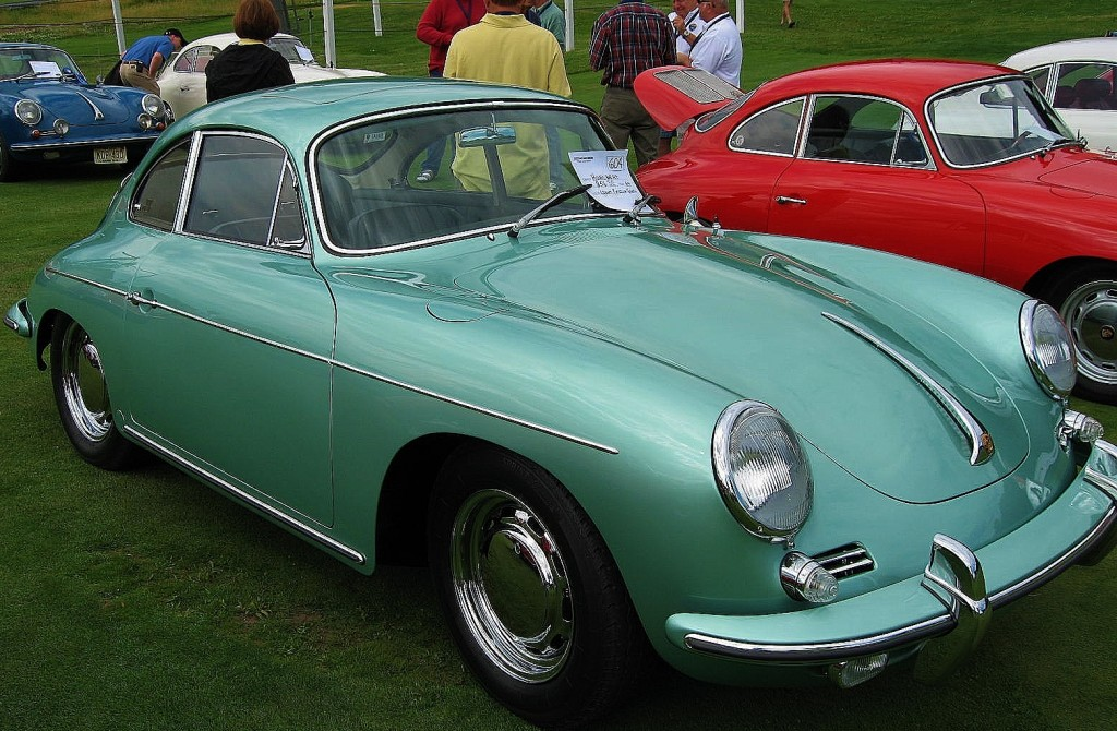 Light Radium Green Porsche 356