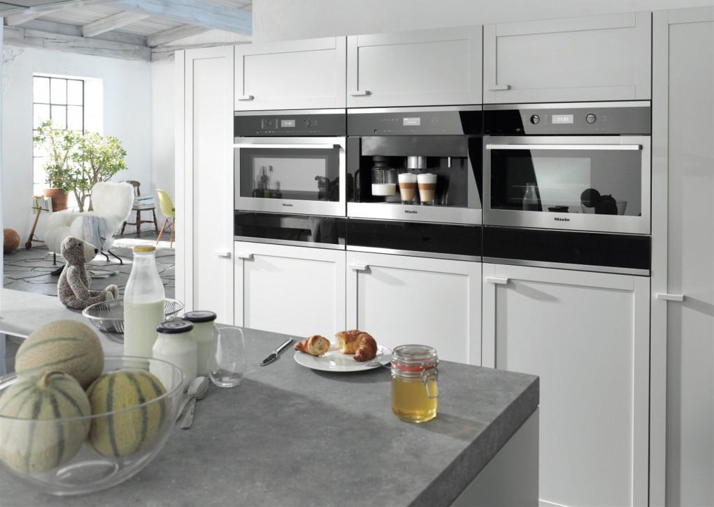 The duh moment kitchens get an appliance wall for Designer kitchen appliances