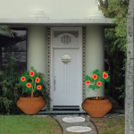 Easy Front Door Fixes: Paint, Decorate & Plant
