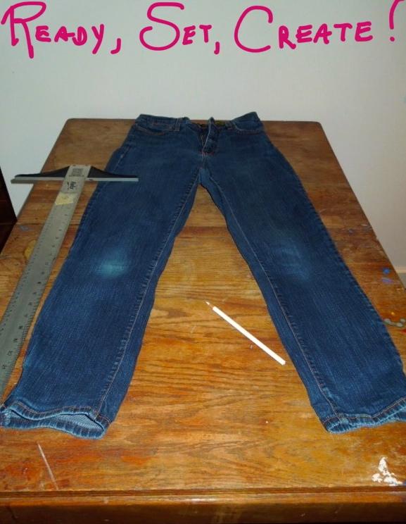 Prepared jeans