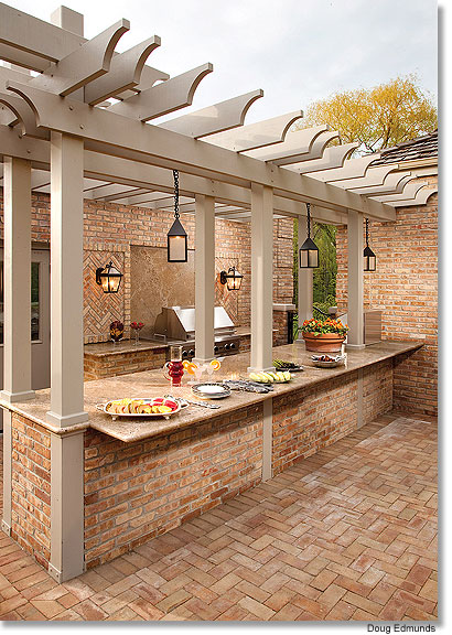 Outdoor kitchen via gmtoday
