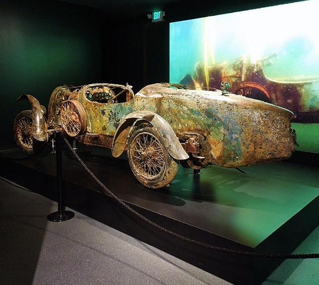 1925 Bugatti Type 27 Brescia Torpedo