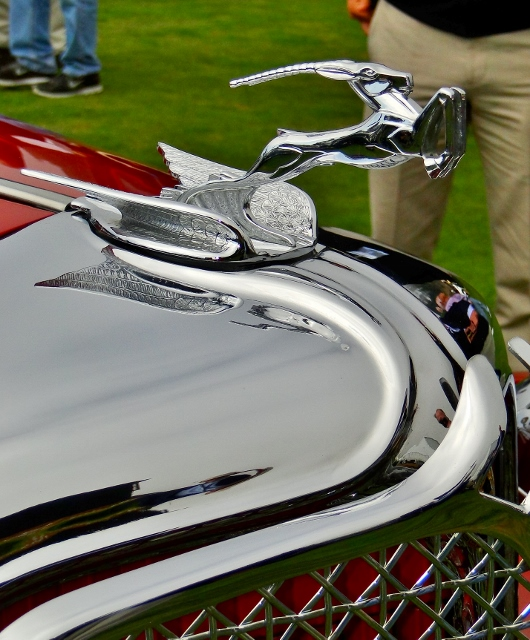 1931 Chrysler CG Imperial hood ornament