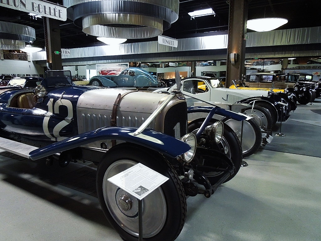 Avion Voisin exhibit at the Mullin automotive Museum