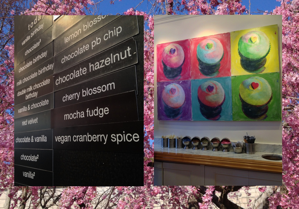 Delights of Georgetown Cupcake