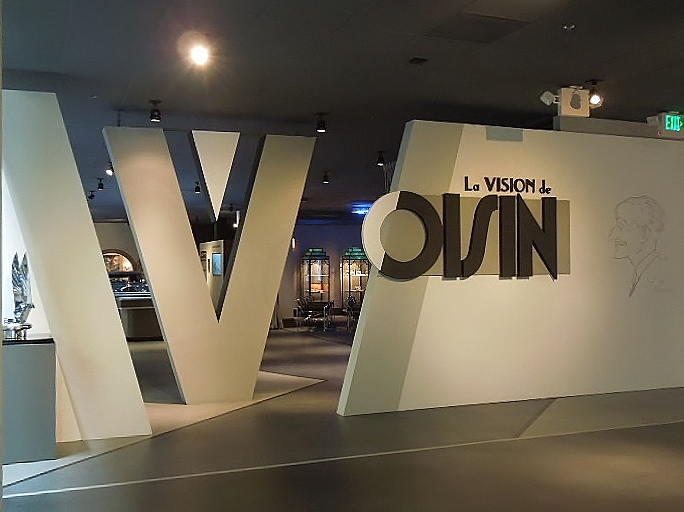 Entrance to Voisin Theater at Mullin Automotive Museum