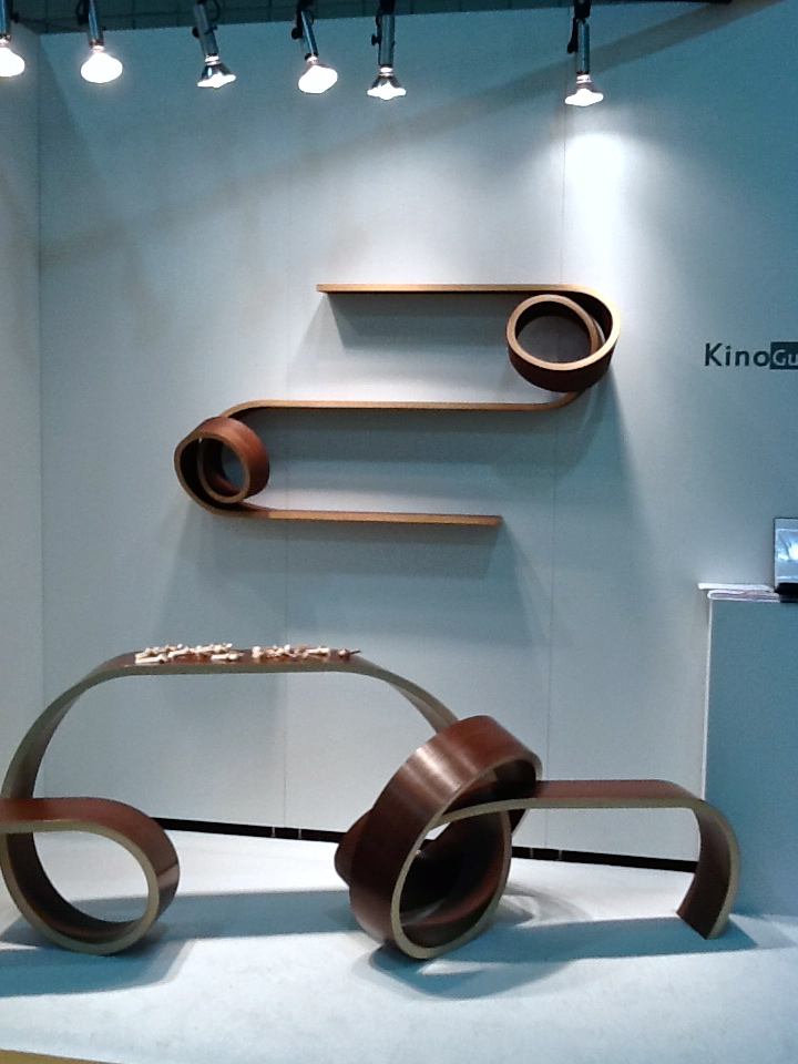 Kino Guerin bent wood furniture