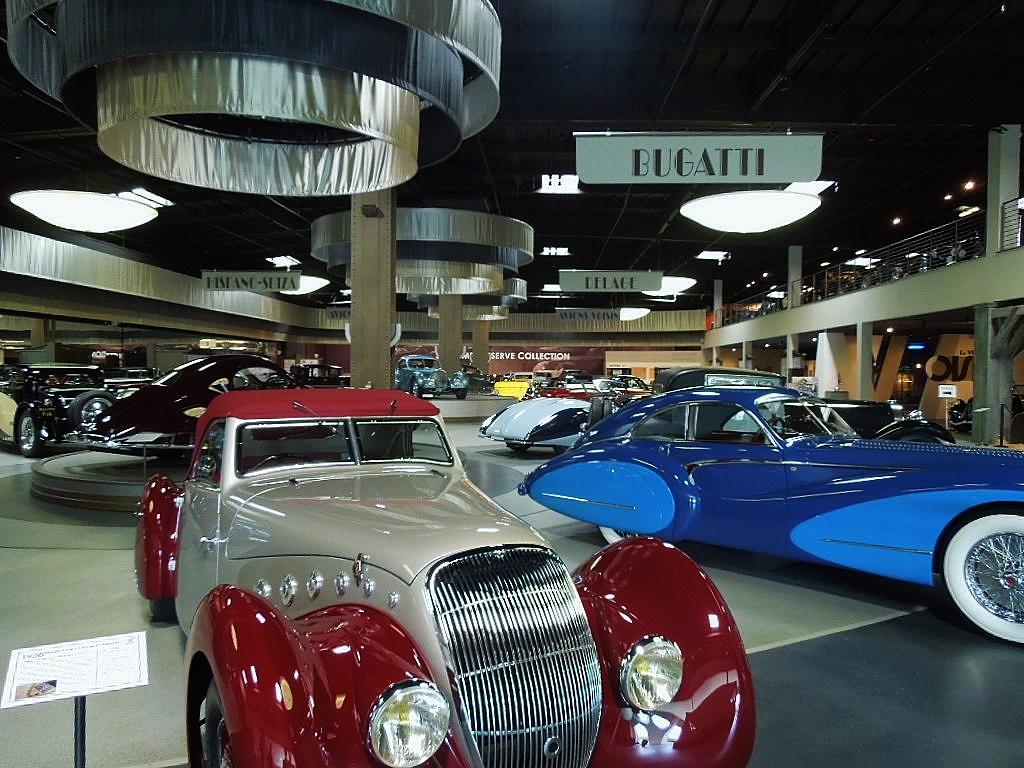 Interior Mullin Automotive Museum