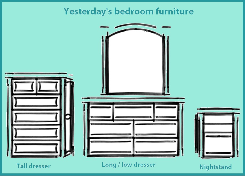 Old bedroom furniture