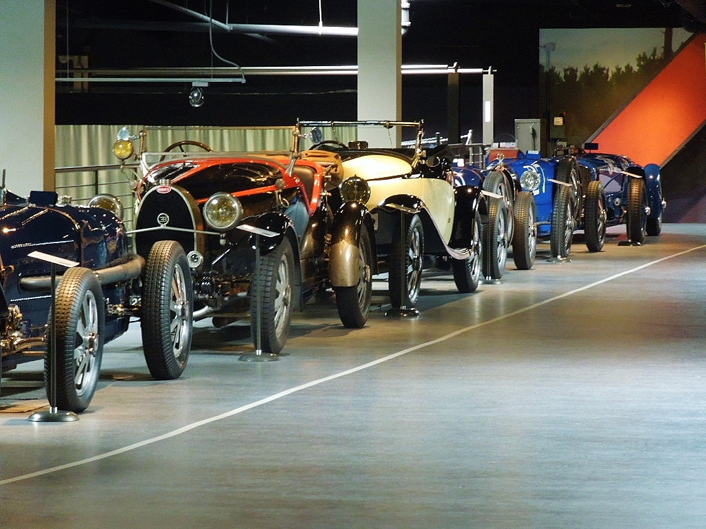 Racing Bugattis at the Mullin Automotive Collection