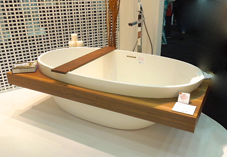 The best eco friendly sinks and tubs for the zen bathroom for Eco bathroom ideas