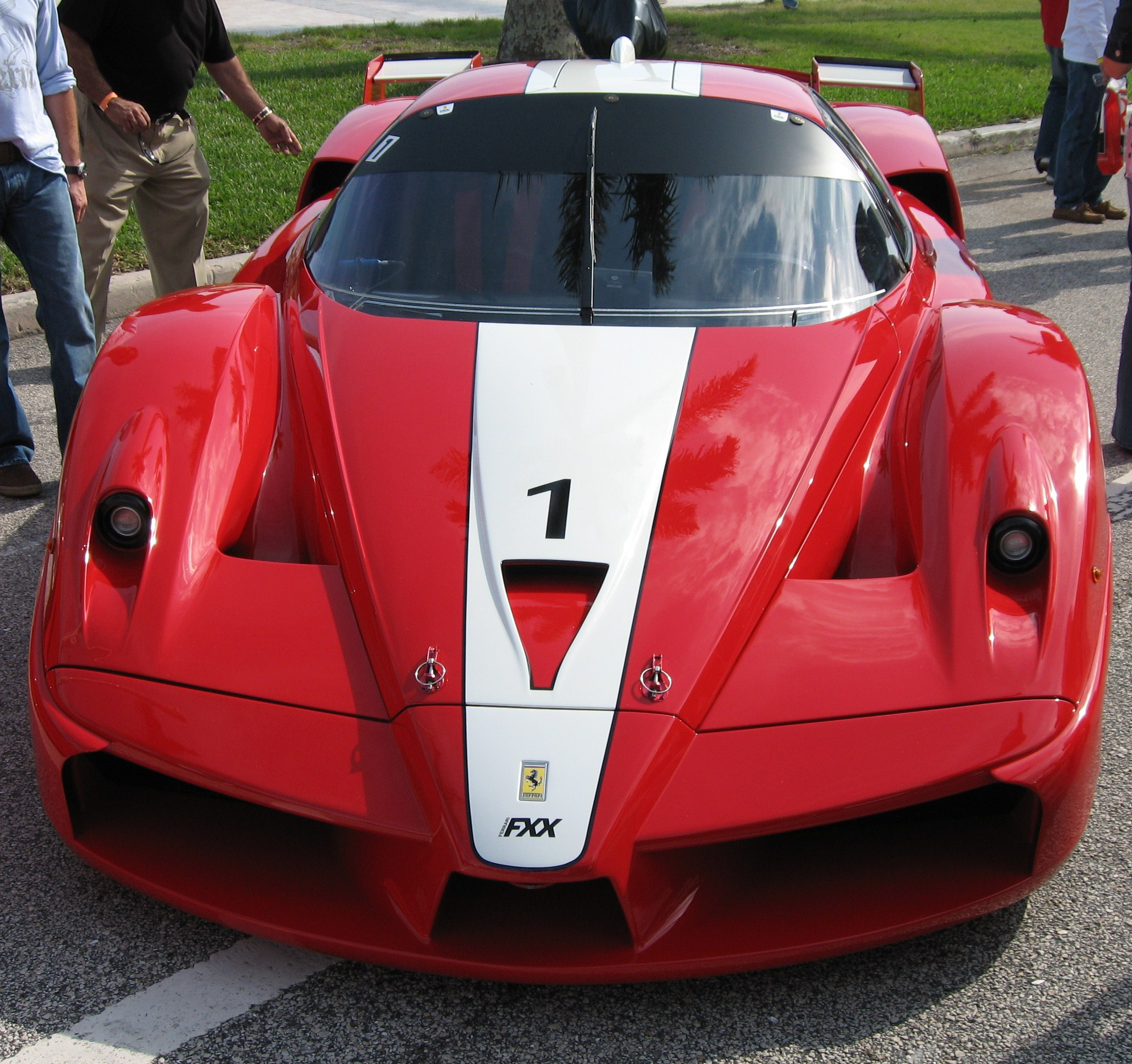 Ferraris: Raise Your Flag To Ferraris In Red, White And Blue