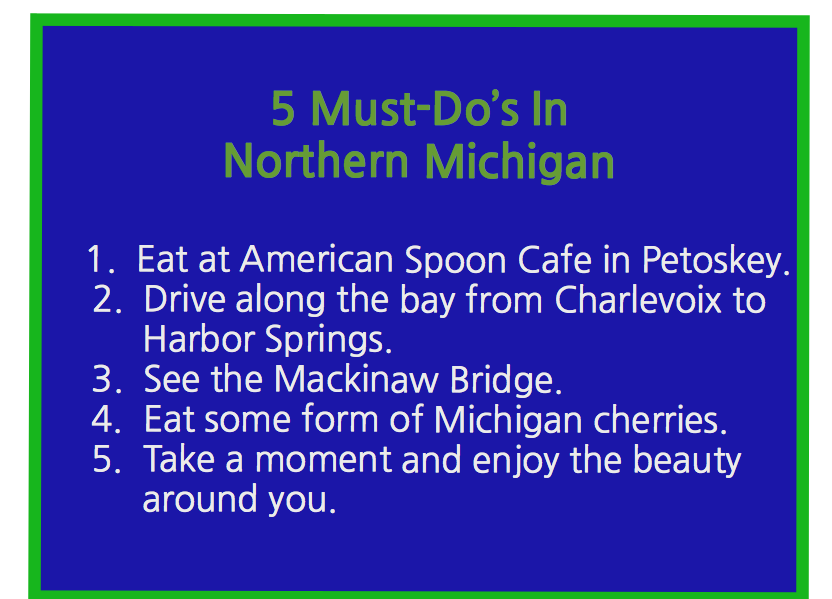5 Must Do's In Northern Michigan