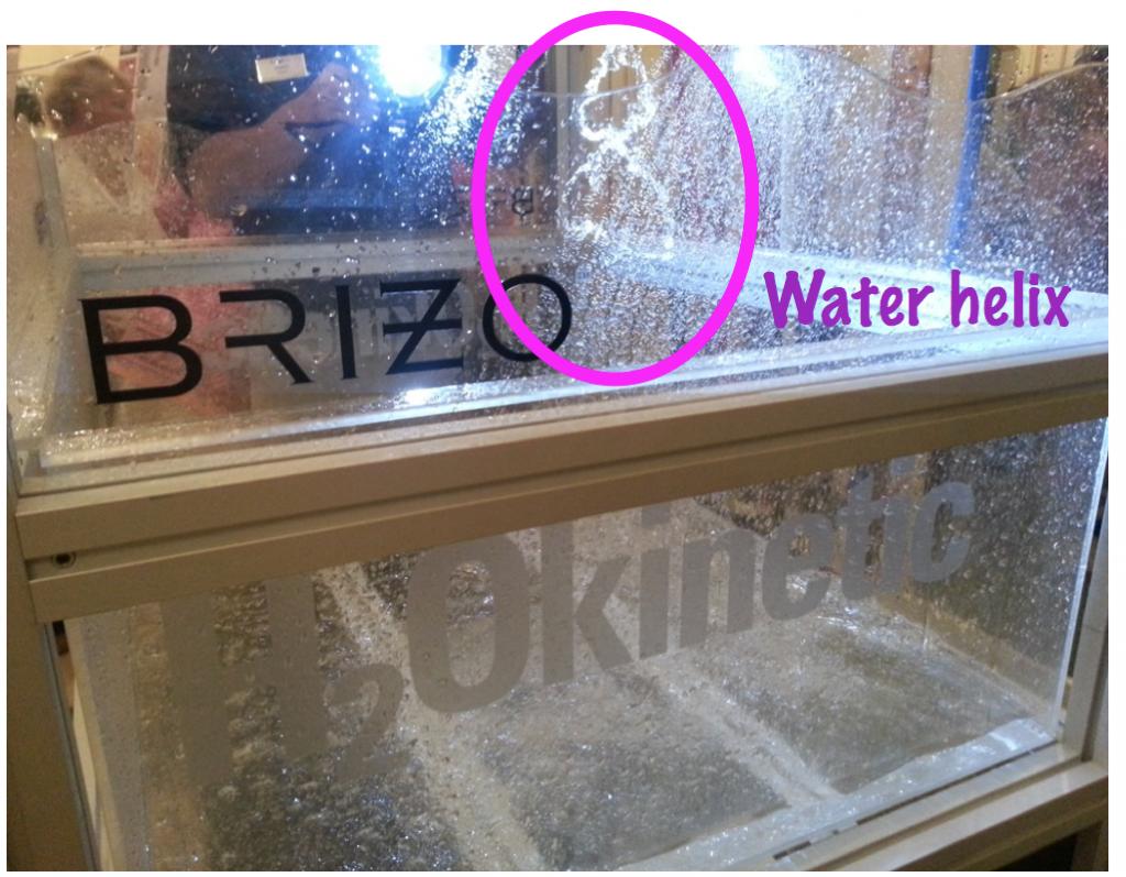 Brizo shower head demo