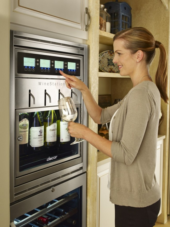 Dacor Wine Station photo via Dacor