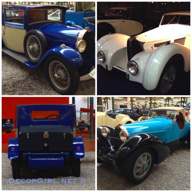 Rare Bugattis from Mulhouse-imp