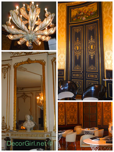 Interiors at L'Ecole