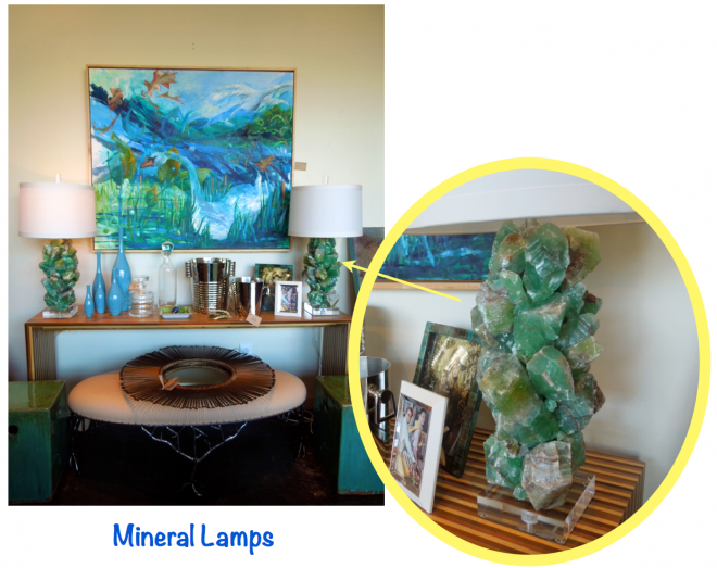 Mineral Lamps from Mecox