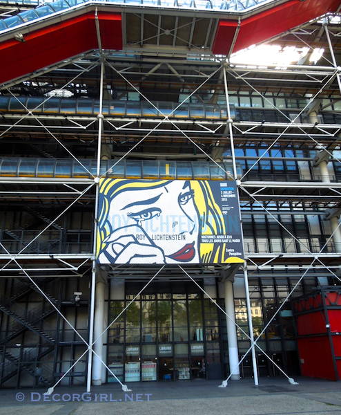 Roy Lichtenstein at Le Centre Pompidou