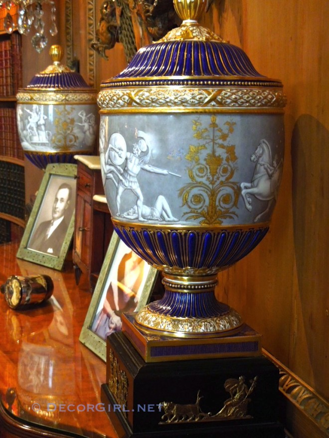 Porcelain Urn from Hillwood Museum