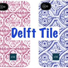 Delft tile iPhone case
