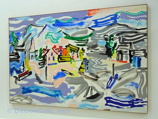 Roy Lichtenstein - Fishing Village, 1987