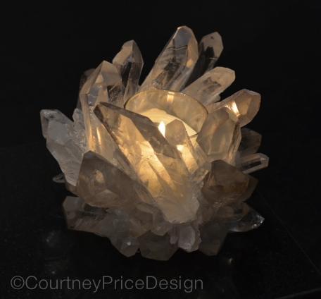 Crystal votive