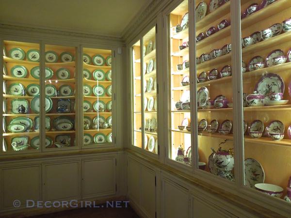 Musee Nissim de Camondo porcelain room