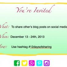 Social sharing invite