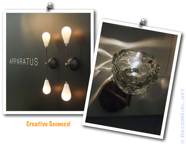 Creative Sconces
