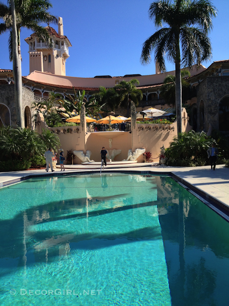 Mar-A-Lago pool