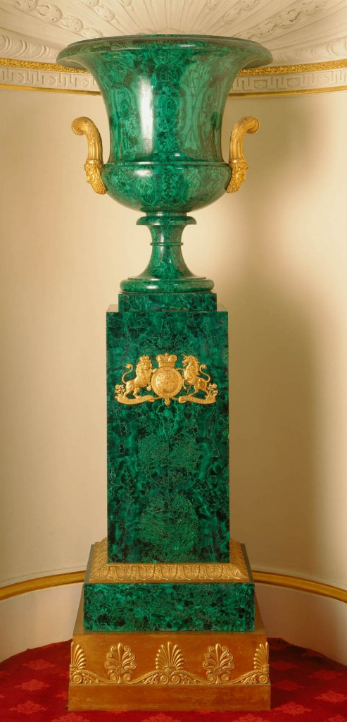 Malachite Vase in Windsor Castle