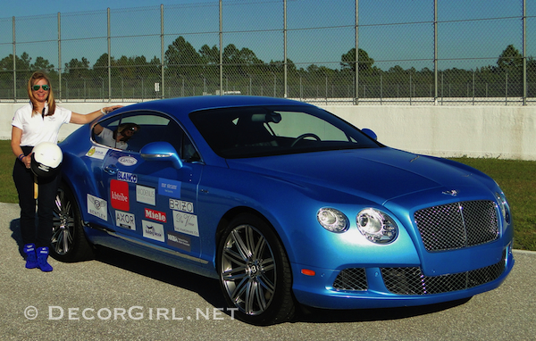 Lisa a Bentley and sponsors